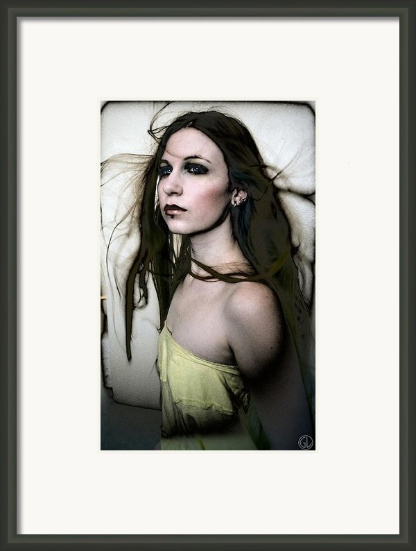 Windblown Framed Print By Gun Legler