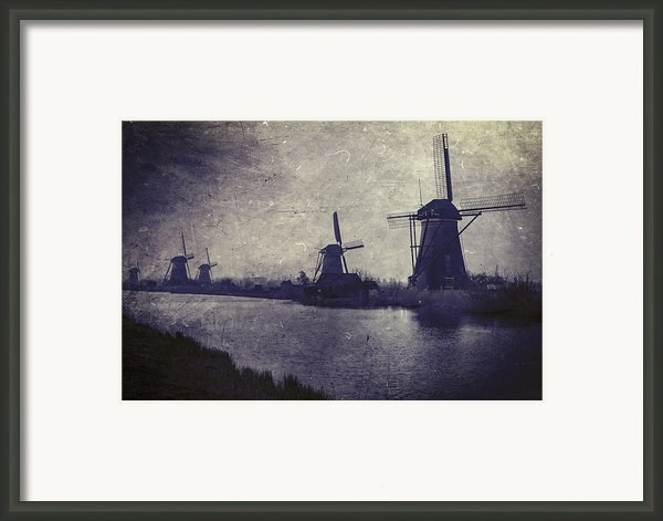 Windmills Framed Print By Joana Kruse