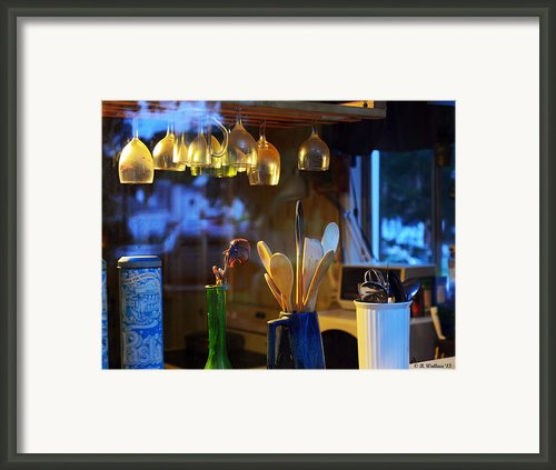 Window To My Kitchen Framed Print By Brian Wallace