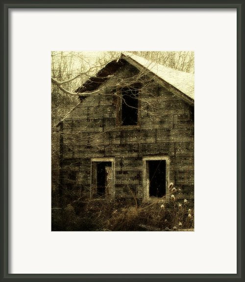 Windows Framed Print By Gothicolors And Crows