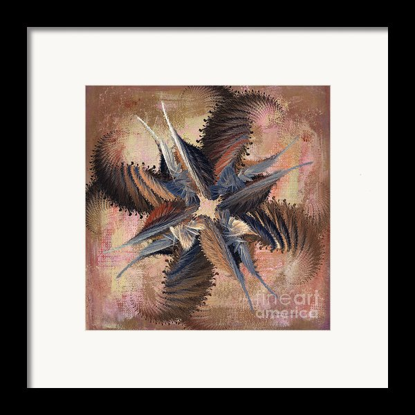 Winds Of Change Framed Print By Deborah Benoit
