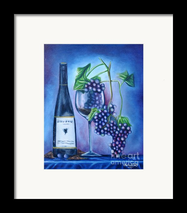 Wine Dance Framed Print By Ruben  Archuleta - Art Gallery