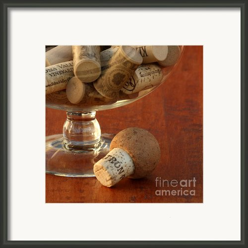 Wine Lover Framed Print By Art Block Collections