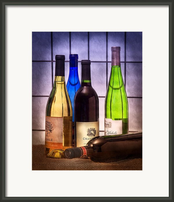 Wines Framed Print By Tom Mc Nemar