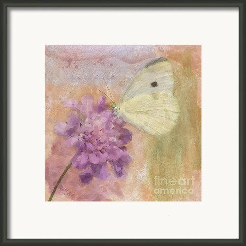 Wings Of Beauty Framed Print By Betty Larue