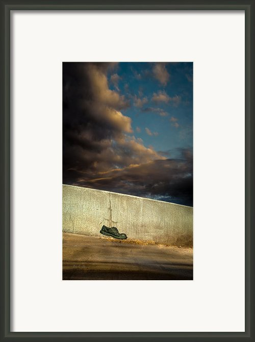 Wingtips  Framed Print By Bob Orsillo