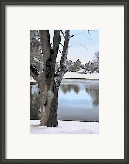 Winter Beauty Framed Print By Betty Larue