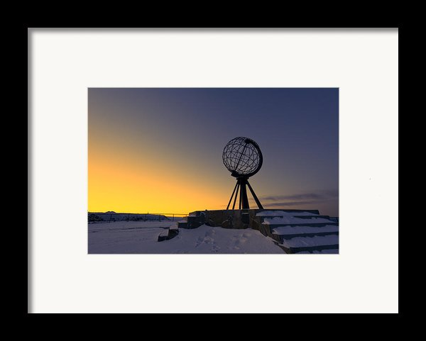 Winter Beyond The Arctic Circle Framed Print By Ulrich Schade