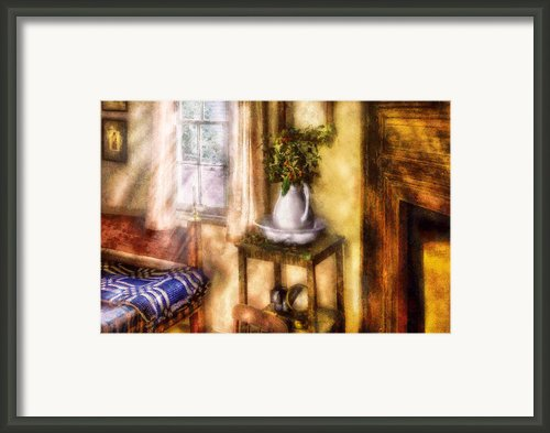 Winter - Christmas - Early Christmas Morning Framed Print By Mike Savad