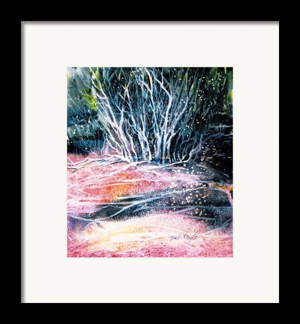 Winter Habitat No.1 Framed Print By Trudi Doyle