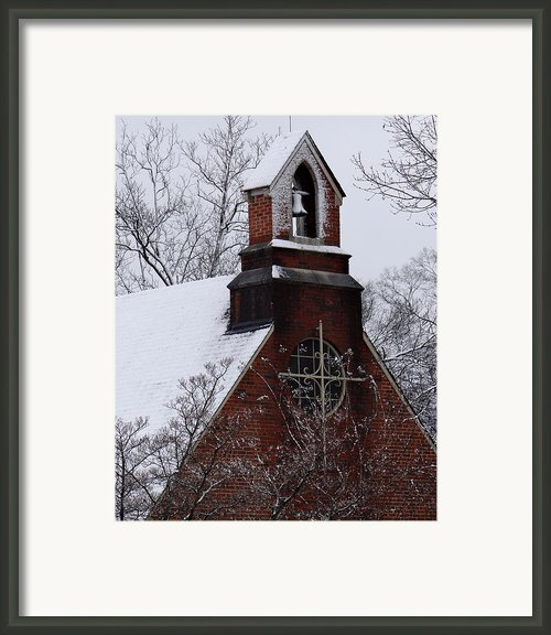 Winter In Dixie Framed Print By Vicki Tinnon