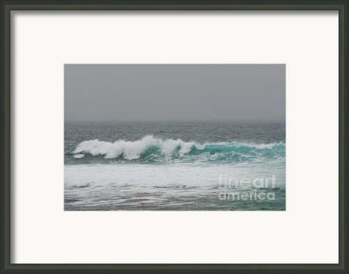 Winter Waves Framed Print By Author And Photographer Laura Wrede