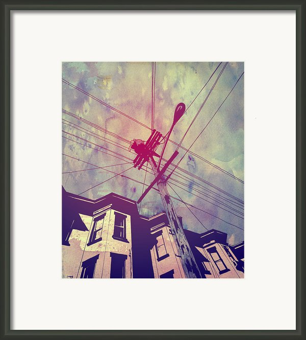 Wires Framed Print By Giuseppe Cristiano