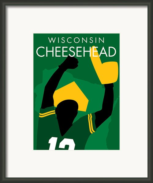 Wisconsin Cheesehead Framed Print By Geoff Strehlow