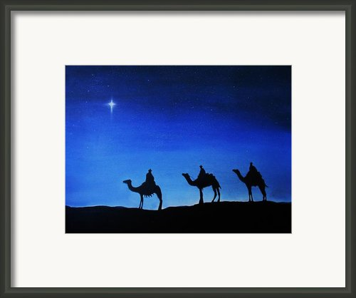 Wise Journey Framed Print By Brian Broadway