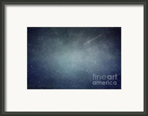 Wish Upon A Star Framed Print By Violet Damyan