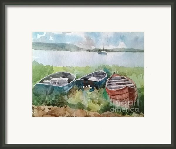 Wishing And Hoping Framed Print By Elizabeth Carr
