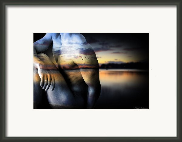 With The Sea  Framed Print By Mark Ashkenazi