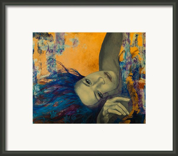 Within Temptation Framed Print By Dorina  Costras