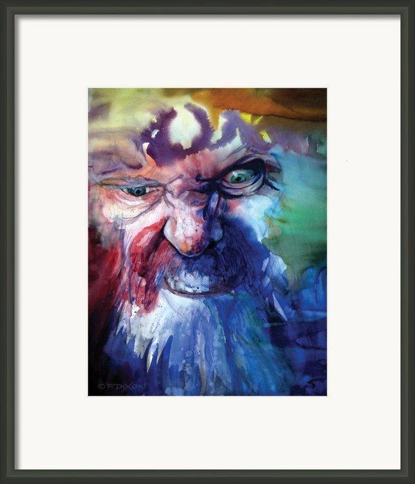 Wizzlewump Framed Print By Frank Robert Dixon