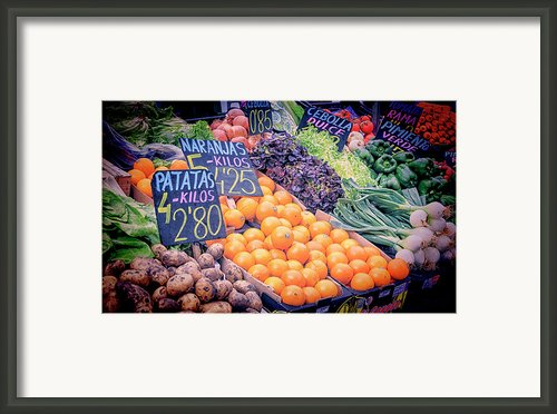 Wonderful In Any Language Framed Print By Joan Carroll