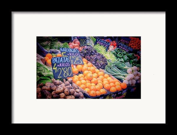 Wonderful In Any Language Framed Print By Joan Carroll