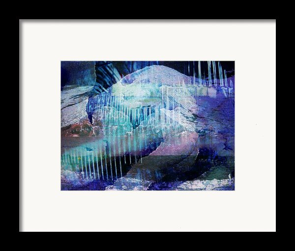 Wonderfully Cold Framed Print By Shirley Sirois