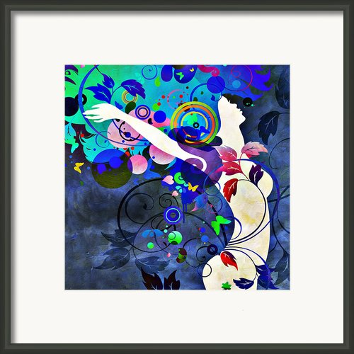 Wondrous Night Framed Print By Angelina Vick