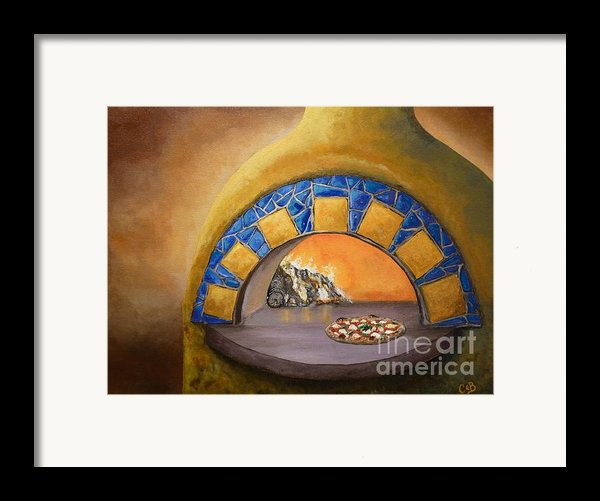 Wood Fired Framed Print By Chad Berglund