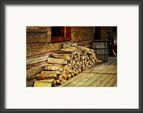 Wood Framed Print By Marty Koch
