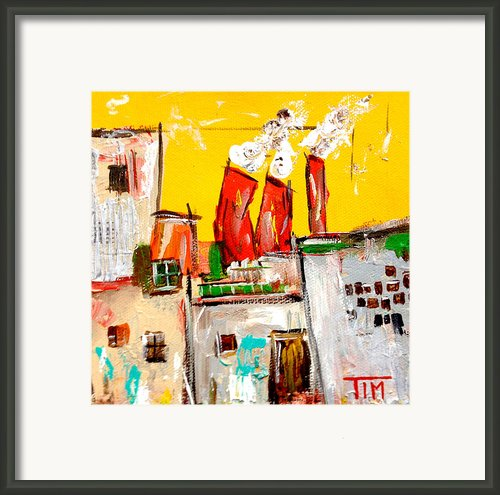 Workin 9 To 5 Framed Print By Tim Ross