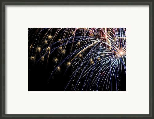 Works Of Fire Vi Framed Print By Ricky Barnard