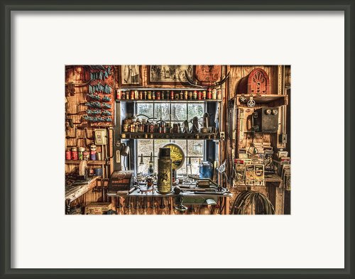 Workshop Framed Print By Debra And Dave Vanderlaan