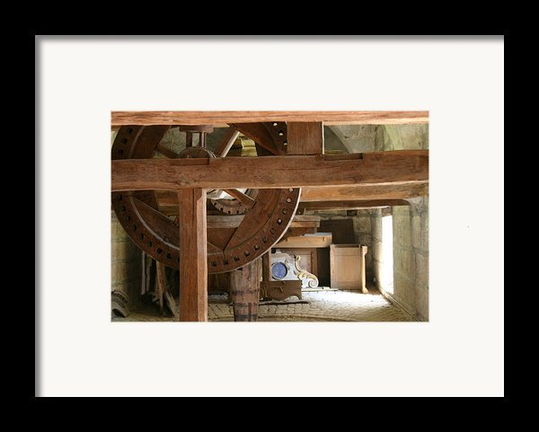 Workshop In Besancon Framed Print By A Morddel