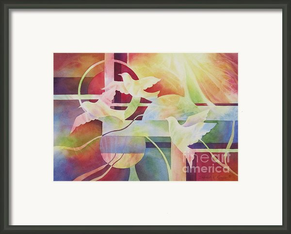 World Peace 2 Framed Print By Deborah Ronglien
