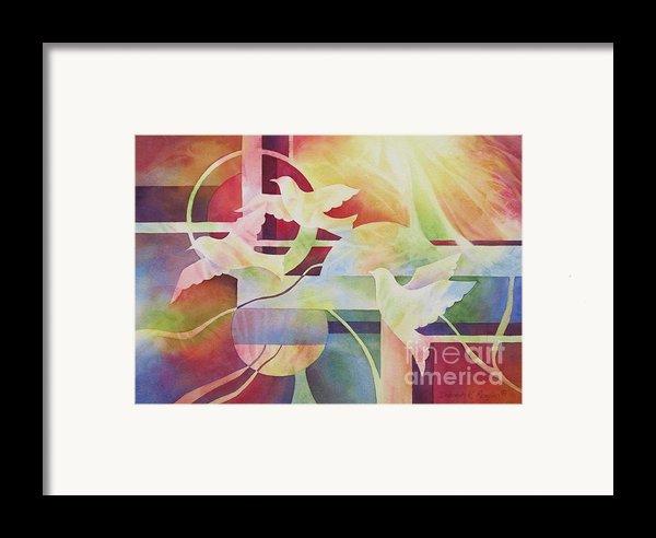 World Peace 2 Framed Print By Deborah Ronglien