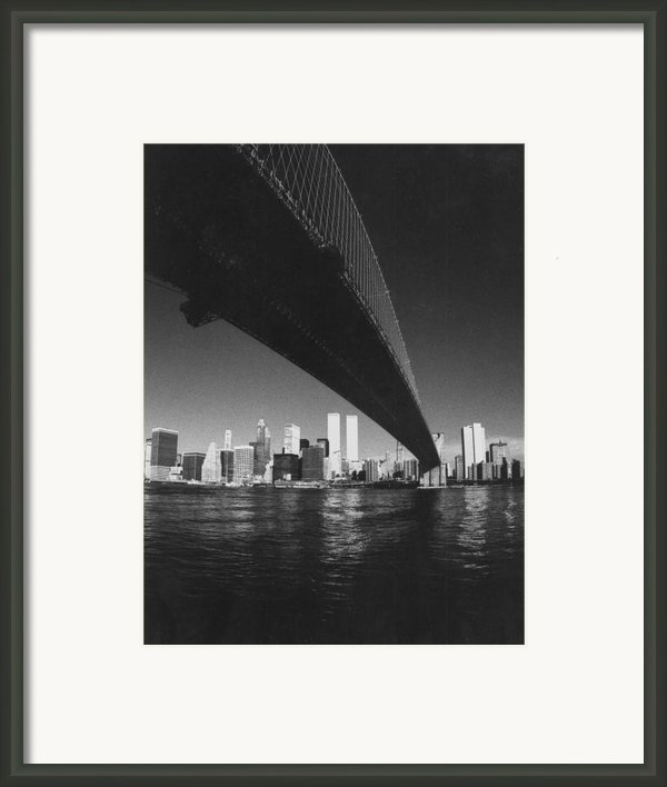 World Trade Center Nyc Framed Print By Steven Huszar