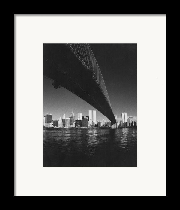 World Trade Center Nyc Framed Print By Steven Huszar