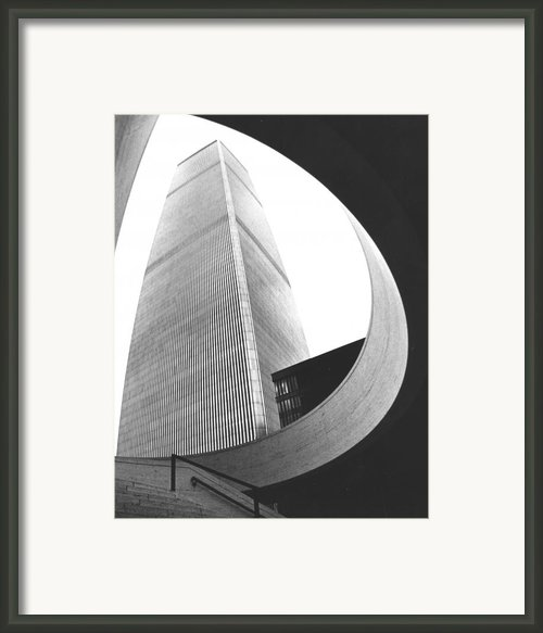 World Trade Center Two Nyc Framed Print By Steven Huszar
