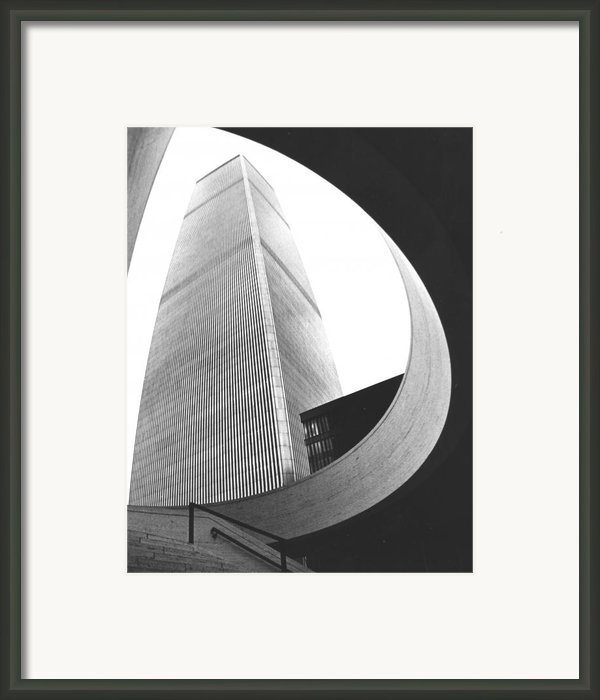 World Trade Center Two Nyc Framed Print By Steven Huszar