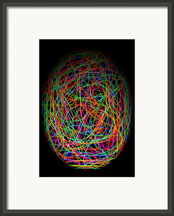 World Web Framed Print By Aidan Moran