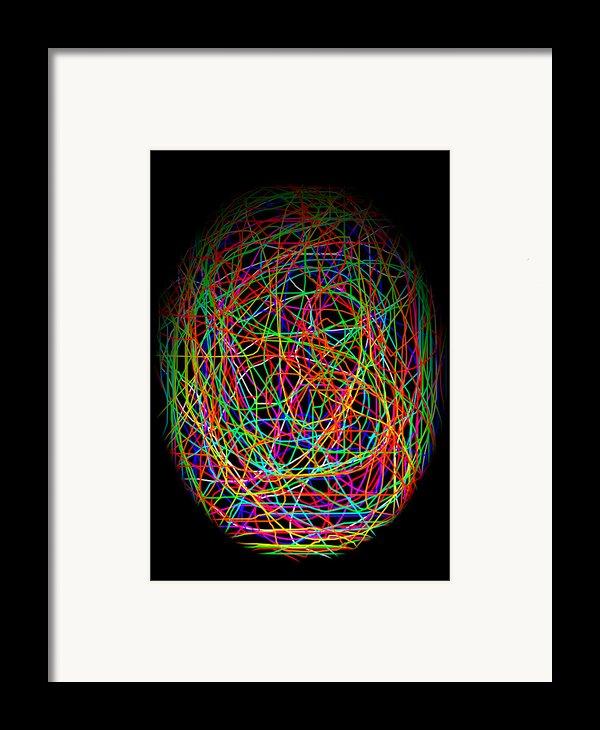 World Web Framed Print By Aidan Moran