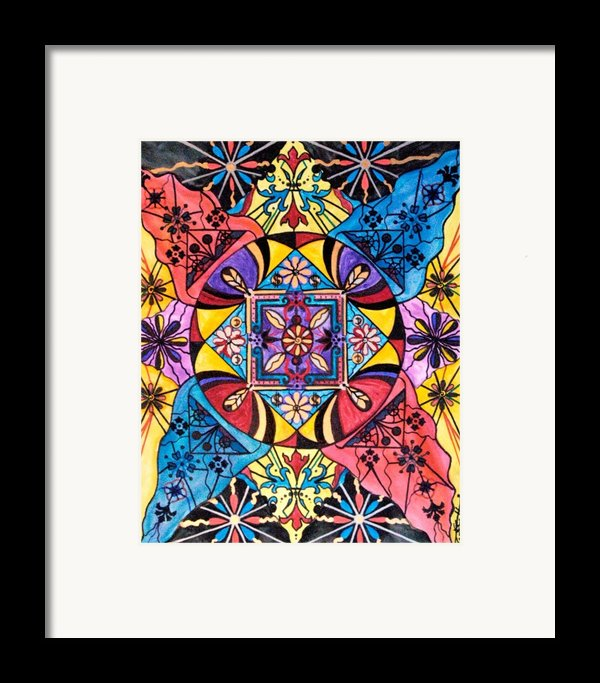 Worldly Abundance Framed Print By Teal Eye  Print Store