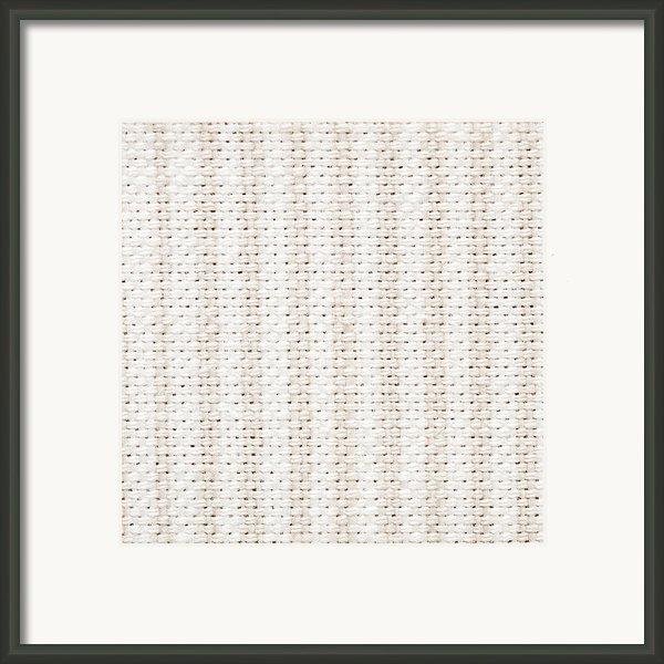 Woven Fabric Framed Print By Tom Gowanlock