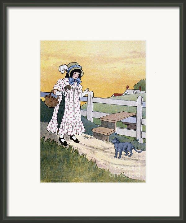 Wright: Pussy Cat Framed Print By Granger