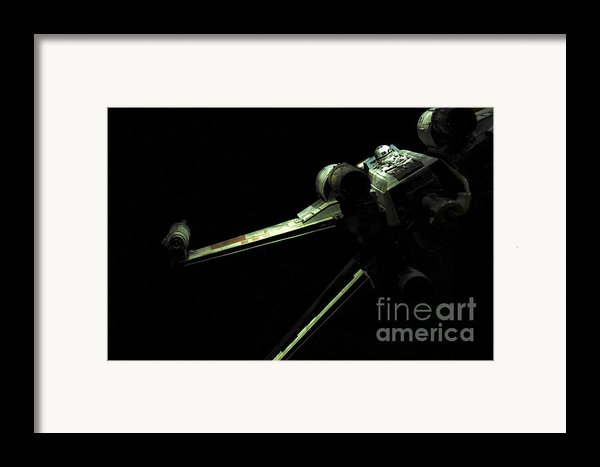 X-wing Fighter Framed Print By Micah May