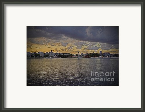 Yacht And Beach Club Villas - Walt Disney World Framed Print By Ak Photography