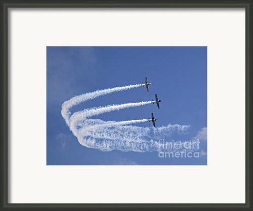 Yaks Aerobatics Team Framed Print By Jane Rix