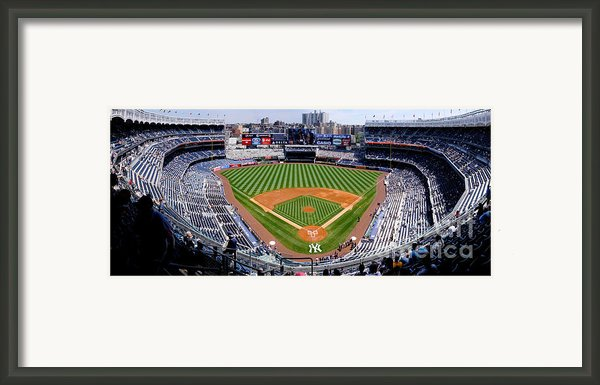 Yankee Stadium 1 Framed Print By Bob Stone