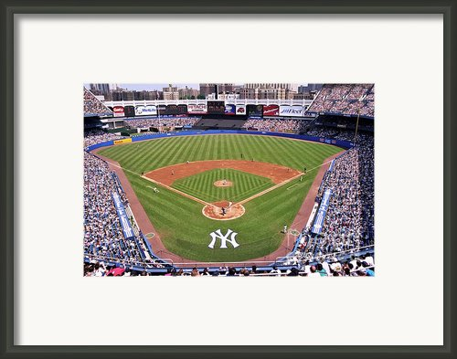 Yankee Stadium Framed Print By Allen Beatty